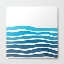 Beach please - III. -  Metal Print