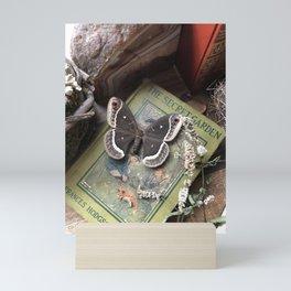 Calleta Silkmoth & The Secret Garden Mini Art Print