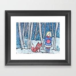 The Snow Child Framed Art Print
