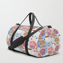 Muffins and Coffee Duffle Bag