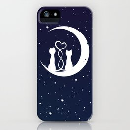 Loving Cats iPhone Case