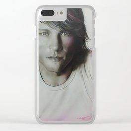 'Jovi' Clear iPhone Case