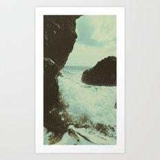 Seaside part one Art Print