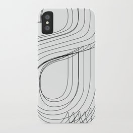 Helvetica Condensed 002 iPhone Case