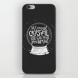 Magical Crystal Ball iPhone Skin