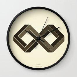Infinite Possibilities Wall Clock