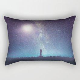 A new beginning V Rectangular Pillow