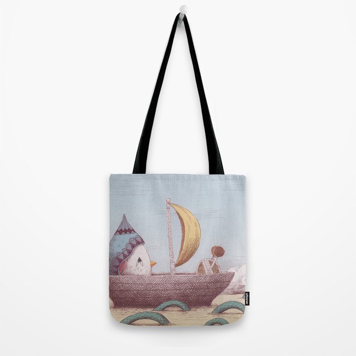 Drummer Bird - Sailing Tote Bag