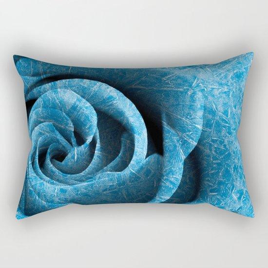 Arctic Rose Rectangular Pillow
