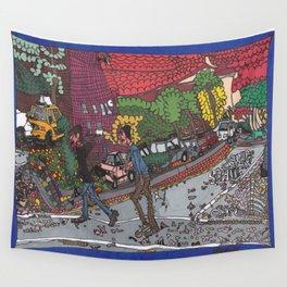 Jills Street - New York Wall Tapestry