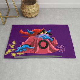 Orko in thought Rug