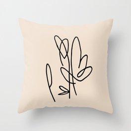 crop Throw Pillow