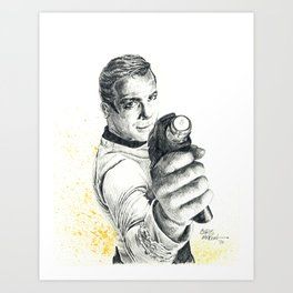 Star Trek: Capt. James T. Kirk Art Print