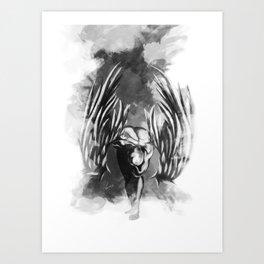 Asas (Wings) Art Print