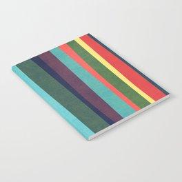 Mid-century zebra Notebook