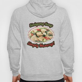 Vintage Funny Sinigang Soup Gift for Filipino Food Lovers. Hoody