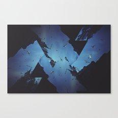 Mountains Celebration Canvas Print