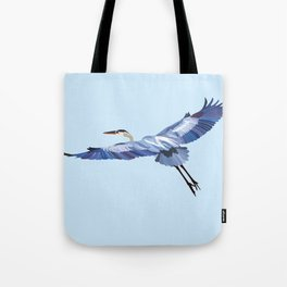 Great Blue Heron - illustration Tote Bag