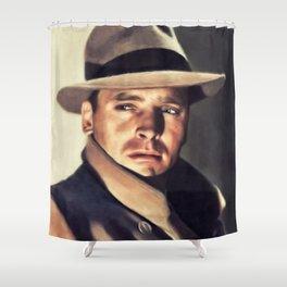 Burt Lancaster, Hollywood Legend Shower Curtain