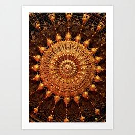 Sun Spur - Raw 3D Fractal Art Print