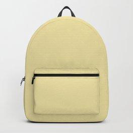 Vanilla Yellow Backpack