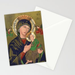 Our Lady of Perpetual Help, 1870 Stationery Cards