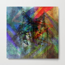 Wolves ##### Metal Print