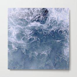 Indigo Deep Sea Ocean Metal Print