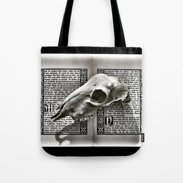 Read Between the Lines Tote Bag