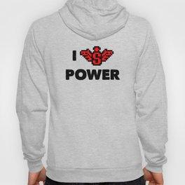 I heart Power Hoody