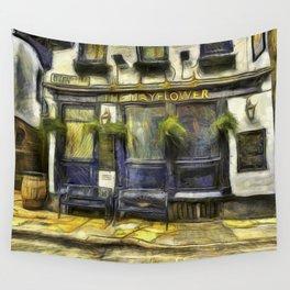 The Mayflower Pub London Van Gogh Wall Tapestry