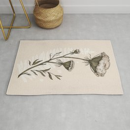 Queen Anne's Lace Rug