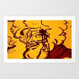 Strreeettt cred  Art Print