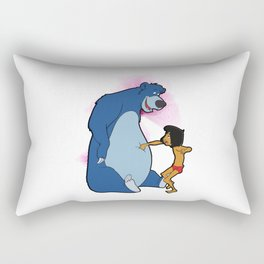 No Power , Baloo and Mowgli Rectangular Pillow