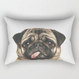 Cheeky Pug Rectangular Pillow
