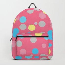 Genderflux Pride Scattered Varied Polka Dots Backpack