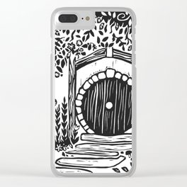 Under Hill Clear iPhone Case