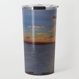Twin Light Sunrise Travel Mug