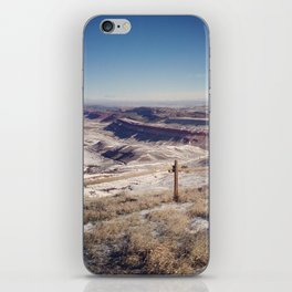 Red Canyon, Wyoming Landscape Photograph iPhone Skin