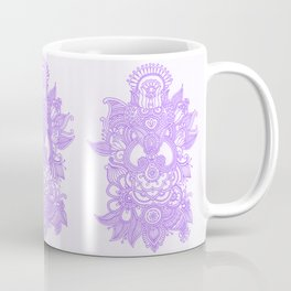 Purple Henna Coffee Mug