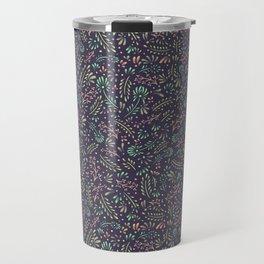 Pastel Flower Ditsy Pattern Travel Mug
