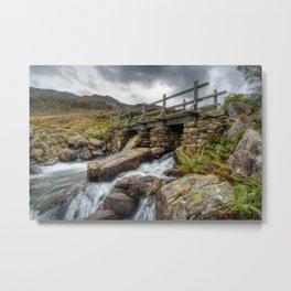 Welsh Bridge Metal Print