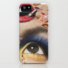 Tears and rumours iPhone Case