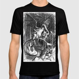 Jabberwocky Illustration from Alice in Wonderland T-shirt