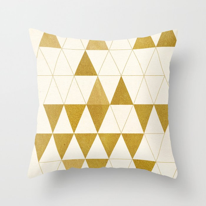 My Favorite Shape Throw Pillow