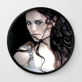 Katie Mcgrath - Celebrity Art Wall Clock
