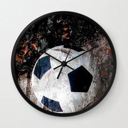 The soccer ball Wall Clock
