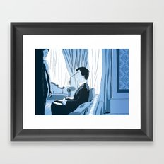 A scandal in fanart Framed Art Print