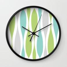 Colorwaves Spring Wall Clock