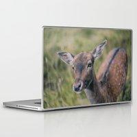 bambi Laptop & iPad Skins featuring Bambi by Kalbsroulade
